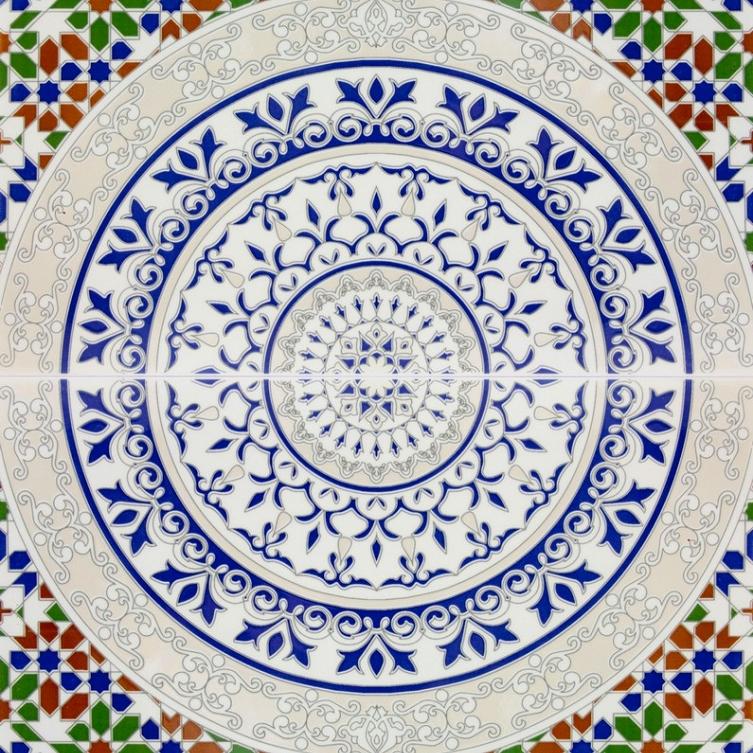 Arabische Dekorative Fliesen Aus Marokko Touska - Marokkanische fliesen hamburg