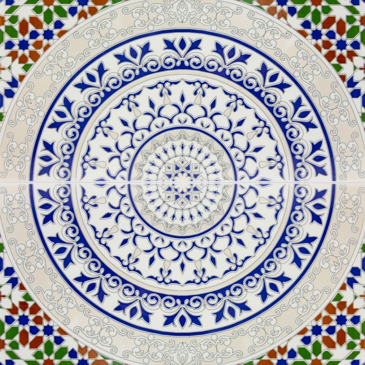 arabische dekorative fliesen aus marokko touska. Black Bedroom Furniture Sets. Home Design Ideas