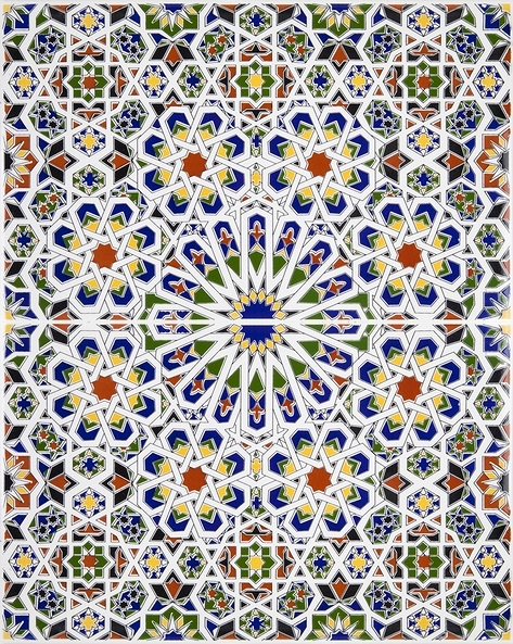 Dekorative arabische fliesen aus marokko mattullah - Fliesen aus marokko ...