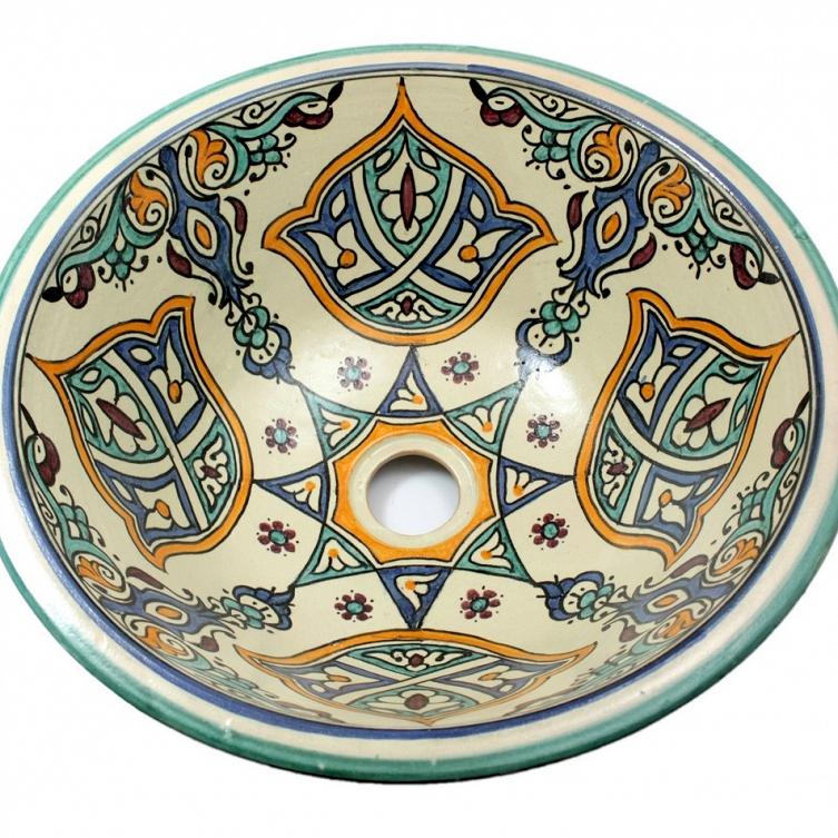 Marokkanische Orientalische Waschbecken Shaam