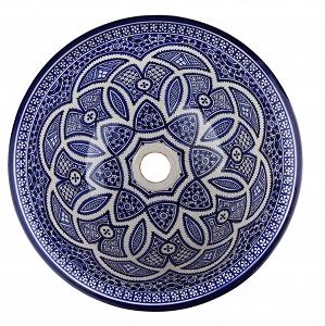 fati handbemalte waschbecken aus marokko farben von marokko marokkanische waschbecken. Black Bedroom Furniture Sets. Home Design Ideas