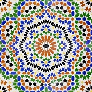 Marokkanische fliesen orientalische dekorfliesen aus marokko - Orientalische fliesen ...