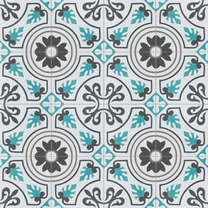 Mitotent - cement spanish floor tiles