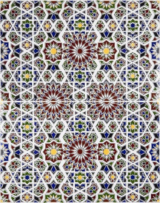 Marwa dekorative arabische fliesen aus marokko - Fliesen aus marokko ...