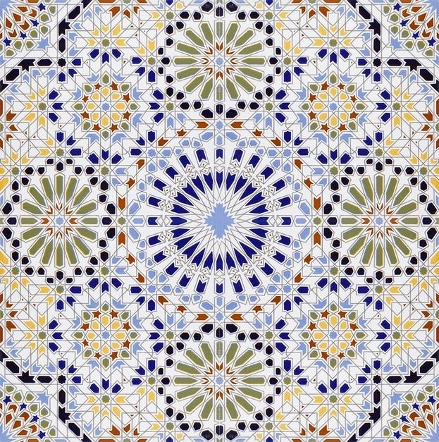 Zaha dekorative arabische fliesen aus marokko - Fliesen marokko ...